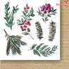 Świąteczna Girlanda -FLOWERS -Paper Heaven