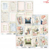 Zestaw papierów 30x30 Written Memories  07/ - Mintay papers