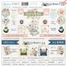 Arkusz naklejek tekturowych Written Memories 10ang/  j.angielski- Mintay papers