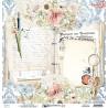 Dwustronny papier -  Written Memories  03 /30x30cm/Mintay