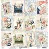 Dwustronny papier -  Written Memories  06 /30x30cm/Mintay