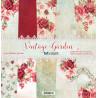 Zestaw papierów Vintage Garden