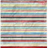CY01 - SCHOOL ADVENTURES - 02 - dwustronny papier 30,5x30,5cm