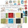 CY01 - SCHOOL ADVENTURES - zestaw papierów 30,5x30,5cm