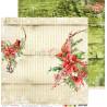 CHRISTMAS TIME - 06 - dwustronny papier 30,5x30,5cm