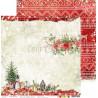 CHRISTMAS TIME - 04 - dwustronny papier 30,5x30,5cm