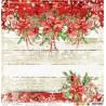 CHRISTMAS TIME - 01 - dwustronny papier 30,5x30,5cm