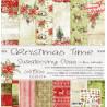 CHRISTMAS TIME- zestaw papierów 30,5x30,5cm