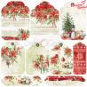 CHRISTMAS TIME - zestaw papierów 15,25x15,25cm