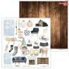 Loft Christmas 03 - papier - 30,5 cm x 30,5 cm - Lexi Design