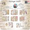 Vintage Craft zestaw 15,2x15,2cm