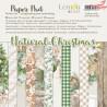 Natural Christmas- Bloczek papierów do scrapbookingu 15x15cm - Lemoncraft