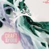 CRIB-016 RIBBONS - tasiemki vintage - ARCTIC WINTER - Craft&You Design