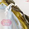 CRIB-014 RIBBONS - tasiemki vintage - WOODLAND STORY - Craft&You Design