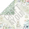 CPB-AW15 Bloczek 15x15 Craft&You Design - ARCTIC WINTER