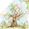 Papier dwustronny Craft&You Design 30,5x30,5 WOODLAND STORY 06