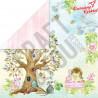 Papier  Craft&You Design 30,5x30,5 WOODLAND STORY 01