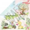 Zestaw papierów 30,5x30,5cm-Craft&You Design - WOODLAND STORY
