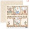 Dwustronny papier Bedtime Tales 03 Scrap Boys   30,5x30,5cm