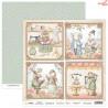 Dwustronny papier Bedtime Tales 05 Scrap Boys   30,5x30,5cm