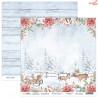 Dwustronny papier Hello Winter 02 Scrap Boys   30,5x30,5cm