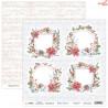 Dwustronny papier Hello Winter 03 Scrap Boys   30,5x30,5cm