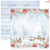Zestaw papierów Hello Winter 08 Flower Dreams   30,5x30,5cm