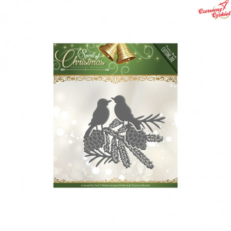 Wykrojnik Precious Marieke - Spirit of Christmas - Spirited Birds