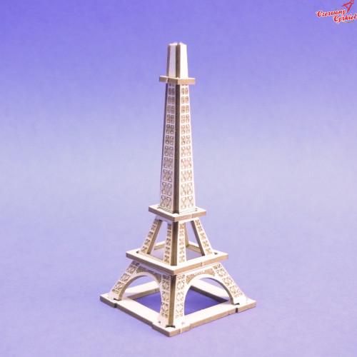1295 Tekturka - Wieża Eifla - Mini 3D