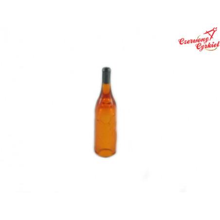Buteleczki plastikowe wino różowe bez etykiet 11x46mm