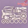 0785 Tekturka - Trzykołowy rowerek 3D