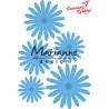 Wykrojnik Marianne Design -Anja's kwiaty zestaw